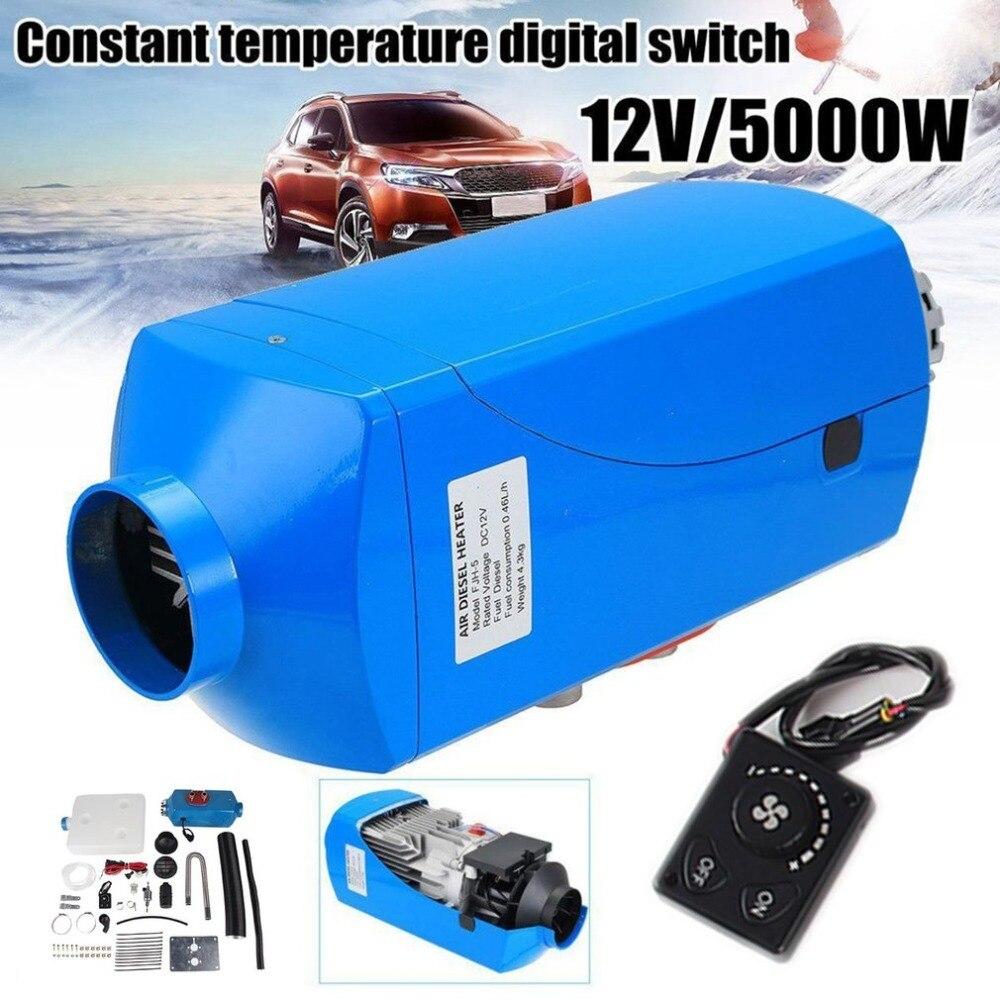 Appareil de chauffage Diesel d'air de véhicule de Schalter d'affichage à cristaux liquides d'utilisation Durable de 12 V 8000 W pour des camions de voiture