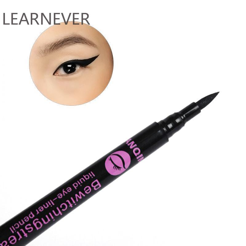 LEARNEVER 1 Pcs Waterproof Black Eyeliner Newest Liquid Eye Liner Pencil Pen Make Up Black Eyeliner Cosmetic Pencil Pen M01171