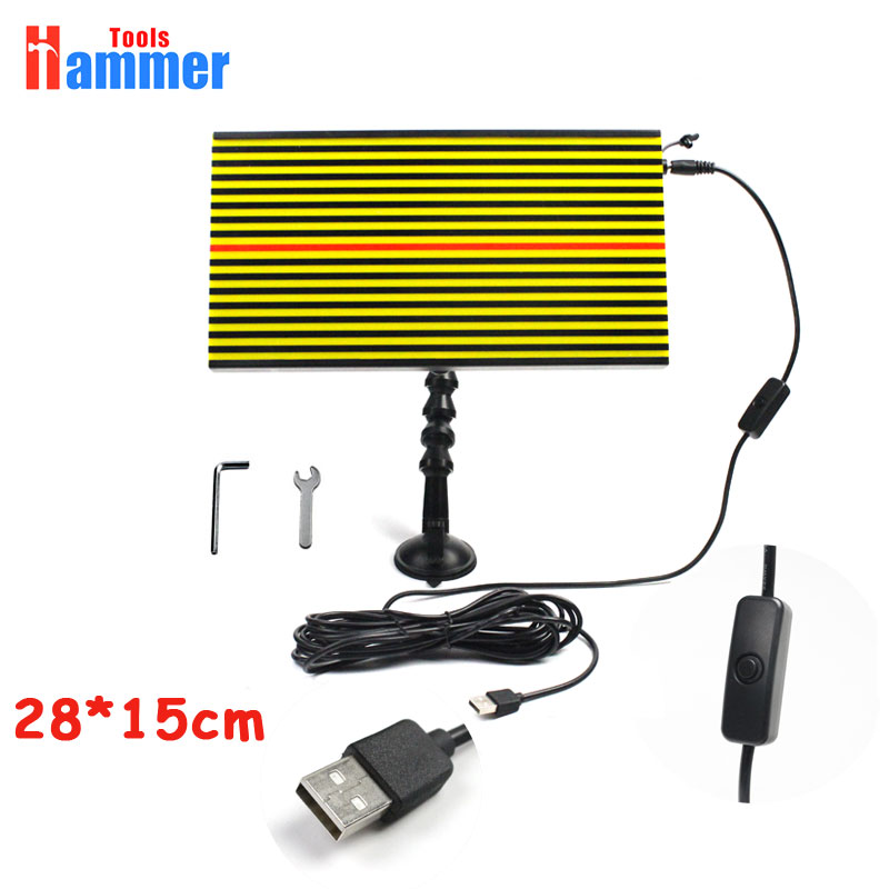 USB PDR LED Light board Lamp PDR LAMP Reflector Board PDR Dent Repair Tools alpine pdr f50