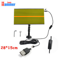 USB PDR LED Light board Lamp PDR LAMP Reflector Board PDR Dent Repair Tools