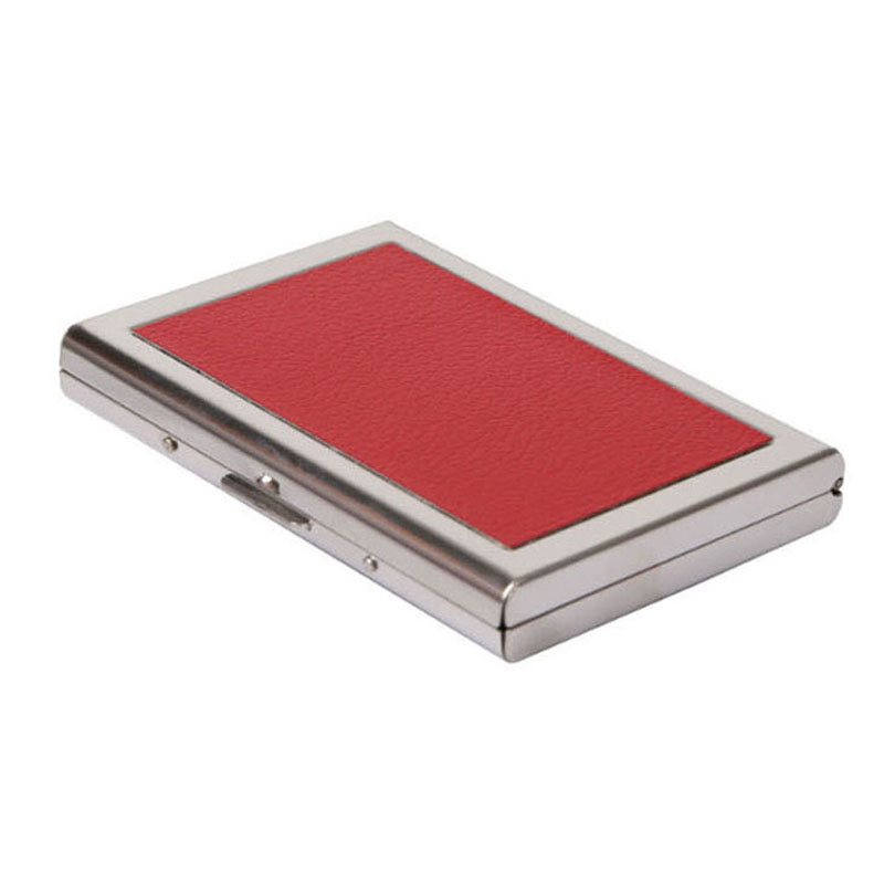 New brand stainless steel Women's credit card holder metal business card wallet id card case for men
