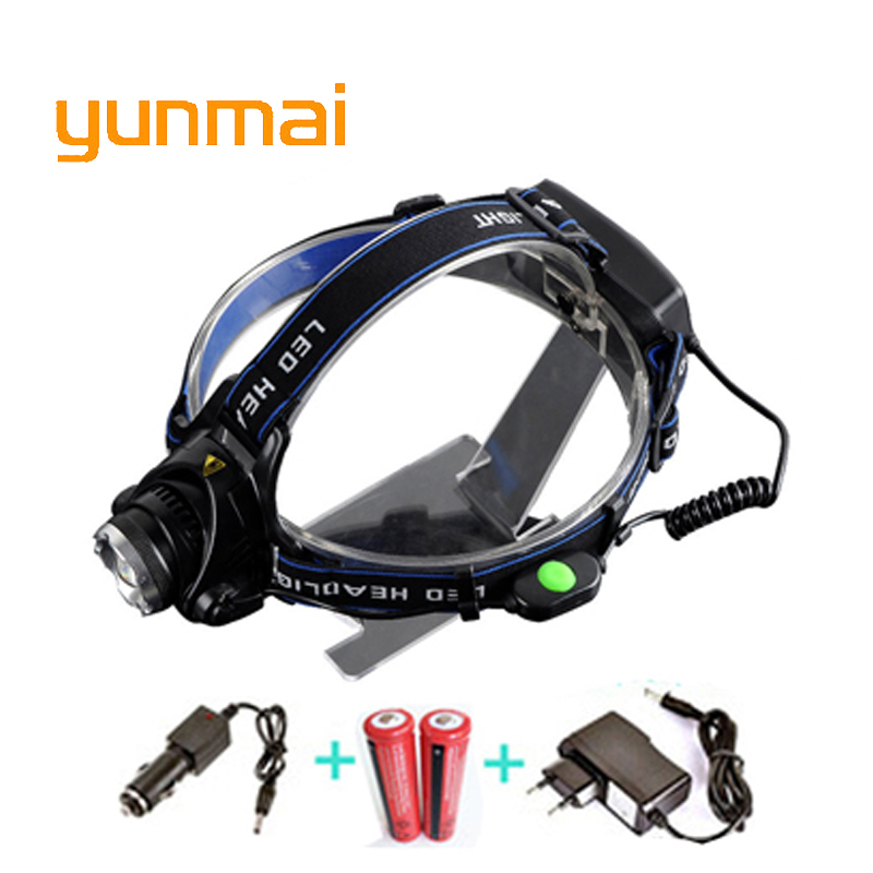 RU USA 2300Lumen CREE XM-L T6 LED Headlamp Headlight Caming Hunting Head Light Lamp 3 Mo ...