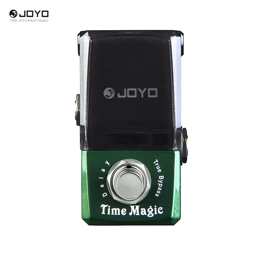 JOYO JF-304 Ironman Series Time Magic Delay Mini Smart Effect Pedal joyo jf 304 new product time magic delay mini smart effect pedal analog sounding digital delay 600ms ture bypass free shipping