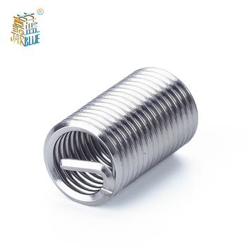 60 sztuk srebrny M3-m12 zestaw do naprawy i umieszczania gwintów zestaw ze stali nierdzewnej do narzędzi do naprawy sprzętu tanie i dobre opinie JARBLUE Obróbka metali Mayitr Threaded insert