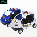 High-quality Plastic Police Cruiser Models With non-toxic Materials Can Bite Police Scout Car PE0477