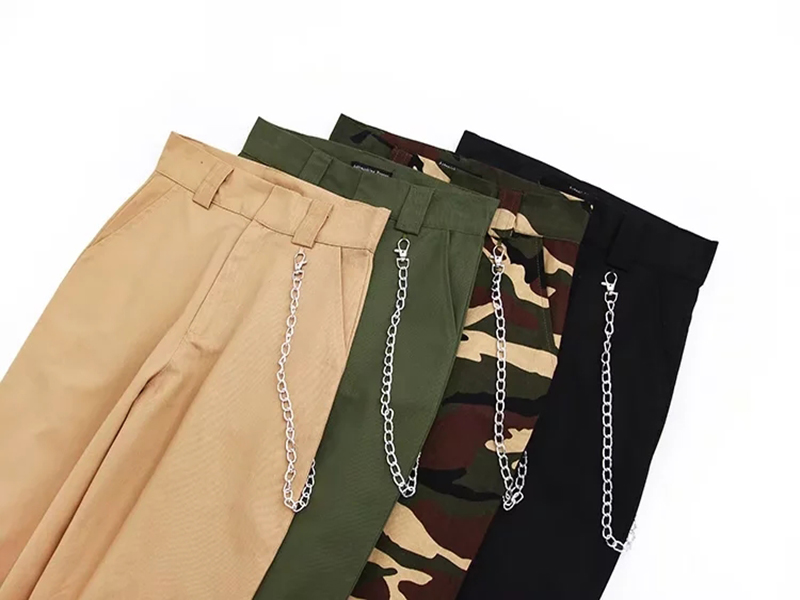 Woman high waist pants loose trousers joggers women camouflage sweatpants street wear 13