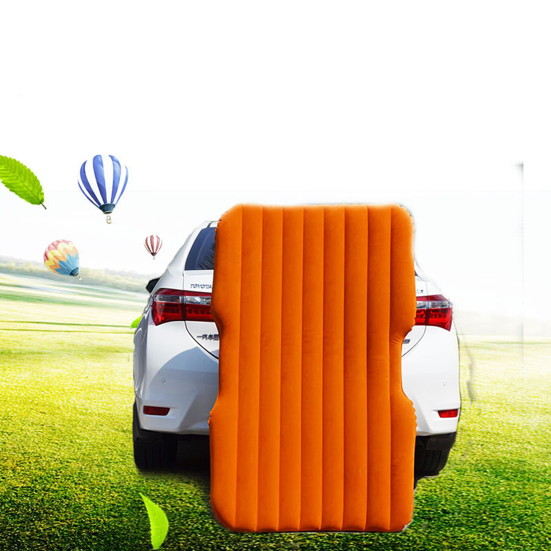 ФОТО 2016 Top Selling Car Back Seat Cover Car Air Mattress Travel Bed Inflatable Mattress Air Bed Good Quality Inflatable Car Bed