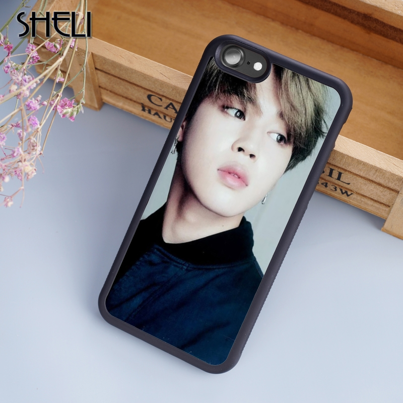 Sheli Bts Logo Phone Case For Iphone 6 6s Plus 7 8 Plus X 5s Back Cover For Samsung Galaxy S5 S6 S7 S8 Edge Plus Case Fitted Cases Cellphones & Telecommunications