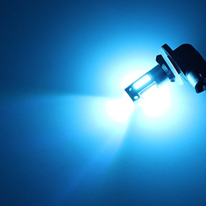 Image 5 - 2 Stuks High Power H27 881/H27 880 Led Vervanging Lampen Auto Mistlampen Dagrijverlichting Drl Lampen 12V Wit Amber Ice Blue