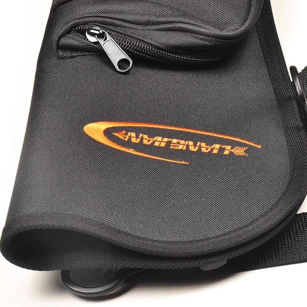 2 Цвет Колчан с 600D ткань Оксфорд и ПВХ покрытие стрелка Охота Лук Колчан сумка для стрельбы из лука Охота стрельба