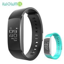 IWOWNfit i6 Pro IP67 Étanche Bluetooth 4.0 Moniteur de Fréquence Cardiaque Podomètre Fitness Tracker Activité Bracelet À Puce