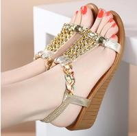 Women Shoes Sandals Comfort Sandals Women Summer Classic Rhinestone 2017 Fashion High Quality Sandals Bohemian Style
