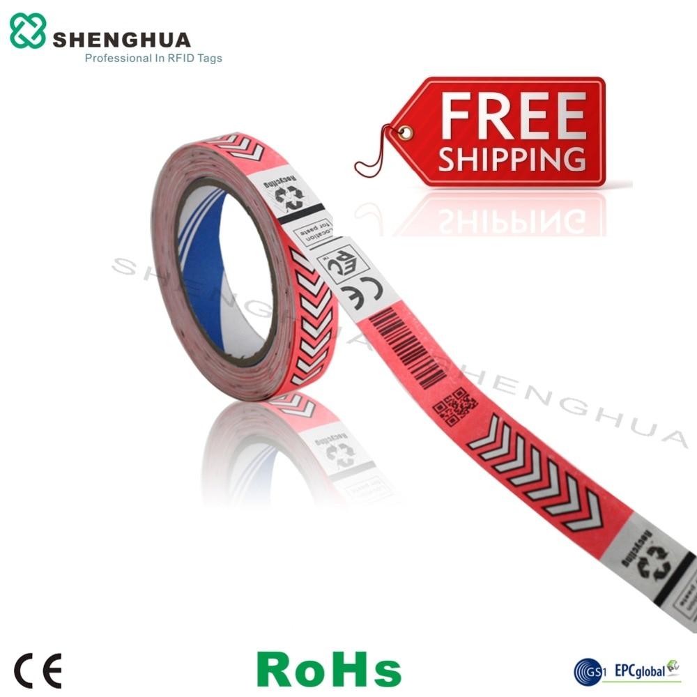 12pcs RFID Wristband/ Uhf Bracelet 915mhz 826mhz For Concert Access Control H3