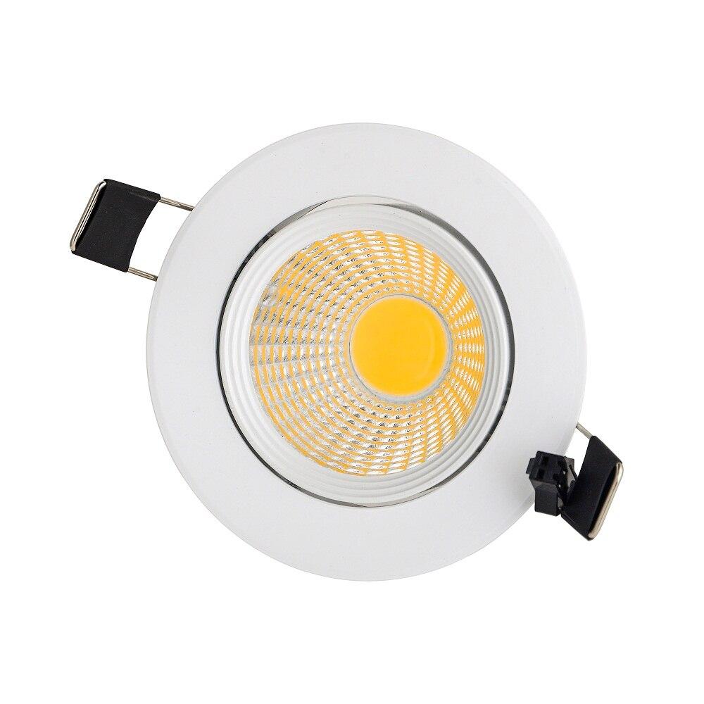 3 Вт 6 Вт 9 Вт cob downlight AC110V 220 В встраиваемые светодиодные лампы светодиодные местная для домашнего освещения привело закрытый потолочный свет...