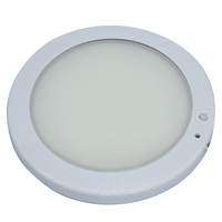 5Inches Car LED Dome Light with Switch 12V Marine Boat Caravan RV Ceiling Lamp White