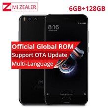 Xiaomi mi note 3 6 GB 128 GB Cep Telefonu Note3 Snapdragon 660 Octa Çekirdekli Çift Arka 12.0MP Kamera 16.0MP Ön Kamera 5.5