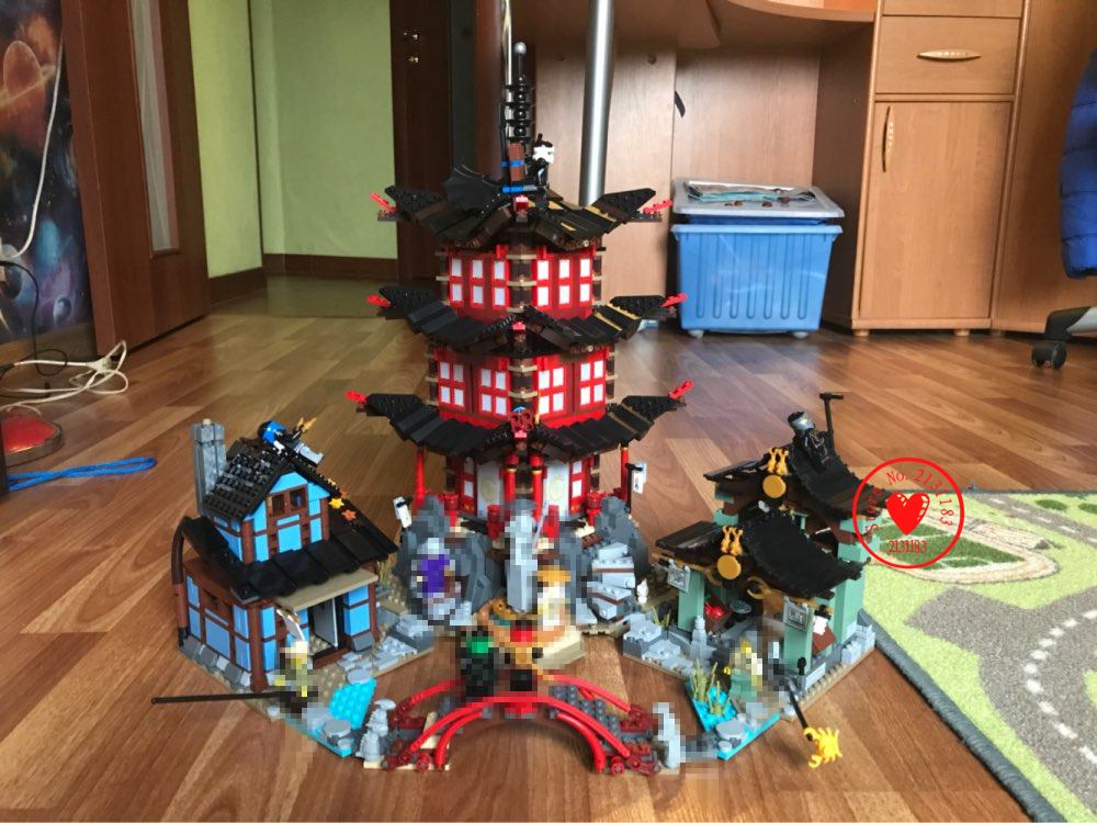 New Ninjagoes Temple of Airjitzu Jay Kai Cole model Building Block bricks diy fit 70751 compatible legoes gift set Ninjagoes bela 911pcs ninjagoes epic dragon battle building block set jay zx chokun minifigures kids toy compatible with legoes 9450