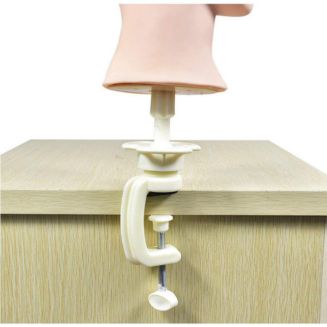 mannequin chair stand brenton studio task boli manikin training practice canvas head holding clamp for wig display styling white
