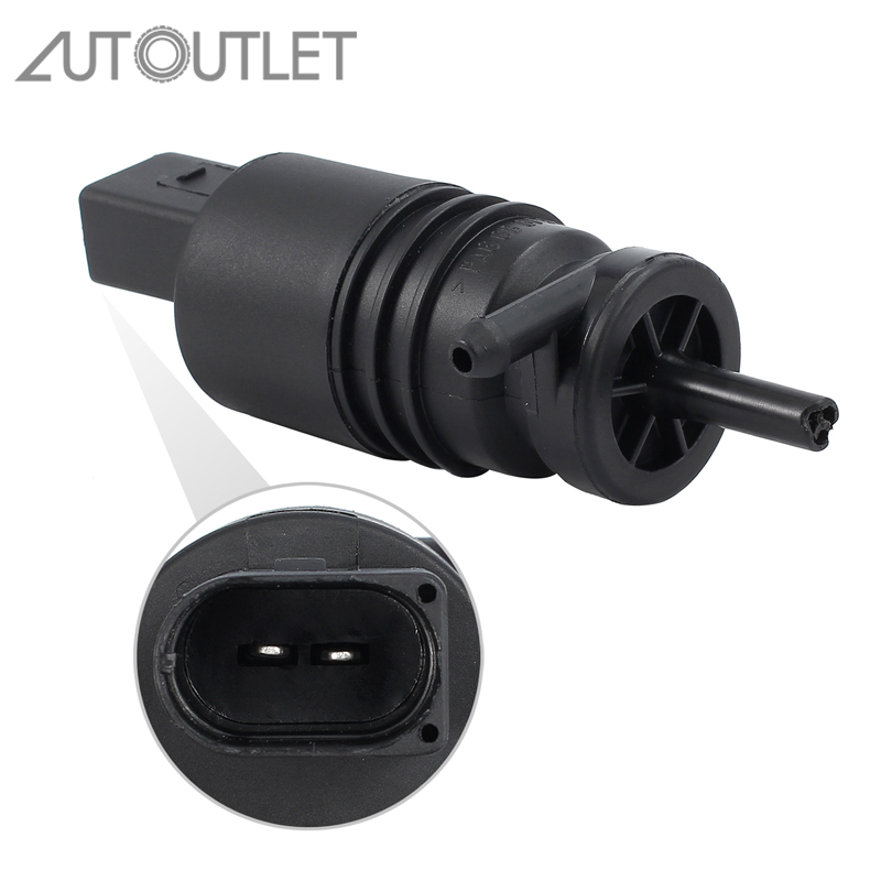 AUTOUTLET Windshield Washer Pump Water Clean For VW 1J5955651 <font><b>1K5955651</b></font> 1T0955651 for AUDI BMW 67128377612 67128362154 image