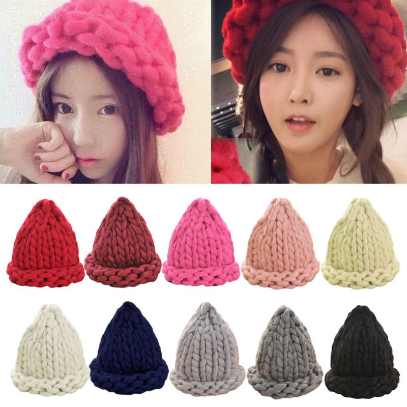 cffdd9b1f1f Buy chunky knit hat and get free shipping on AliExpress.com