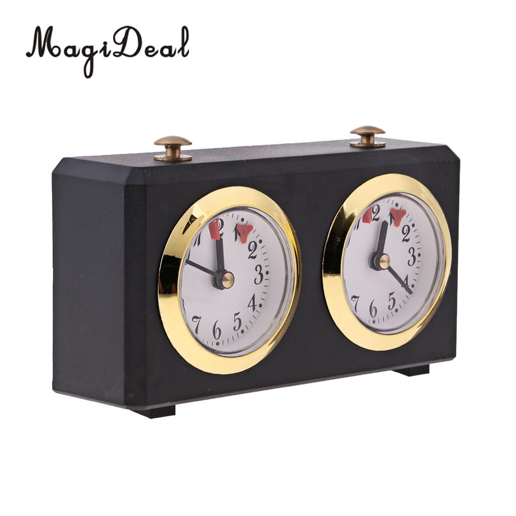 MagiDeal 1Pcs International Chess Game Competition Wind up Count Up Down Timer Wind Up Chess Clock