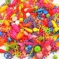 500g (500 pcs) Variedade Frisado magic beads Diy contas Set Crianças Inteligência Blocos de Construção Acessórios de Jóias Arty Presentes da educação
