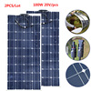 200W 20V Solar Panel Monocrystalline Silicon Solar Board Power Generater Flexible Solar Board Portable Solar Panel
