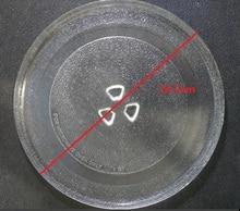 Kaliteli mikrodalga fırın parçaları döner cam plaka döner çanak palet 24.5cm çanak
