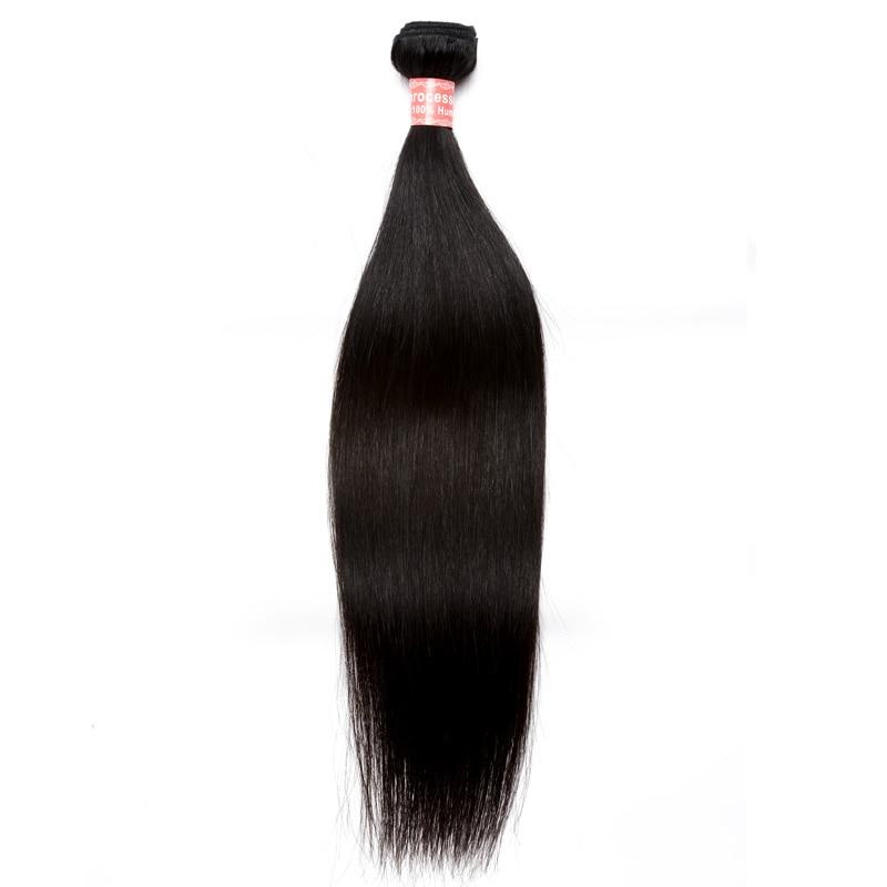 Barangan Rambut Brazil Lurus Rambut Lurus Berus Rambut Tawaran Produk - Rambut manusia (untuk hitam) - Foto 1