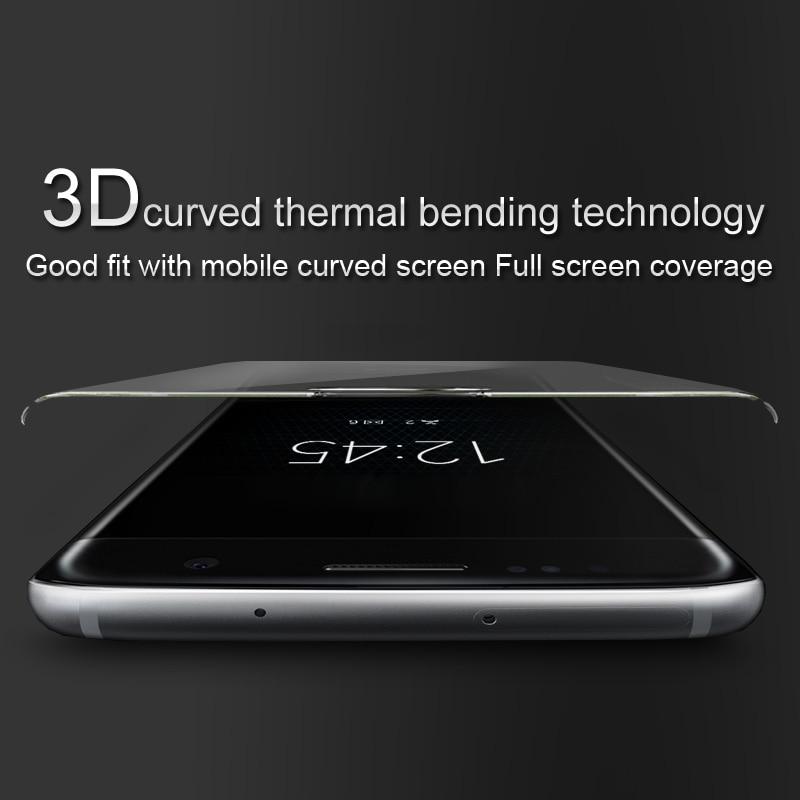 Imak Anti-Explosion 9 H 3D Courbe Pleine Couverture En Verre Trempé Pour OnePlus 5 Écran Protecteur pour Un Plus 5 A5000 3D Verre Film