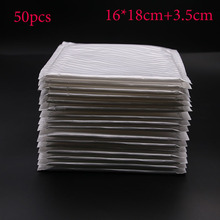 Special Offer! The New White 16x18cm +3.5 Cm * 5.5g Waterproof Sunscreen Courier Envelope Or Liner Bag Bubble Envelope