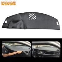 KAHANE Leather Car Dashboard Cover Non Slip Dash Mat Pad Left Hand Driver For Jaguar XF 2008 2015