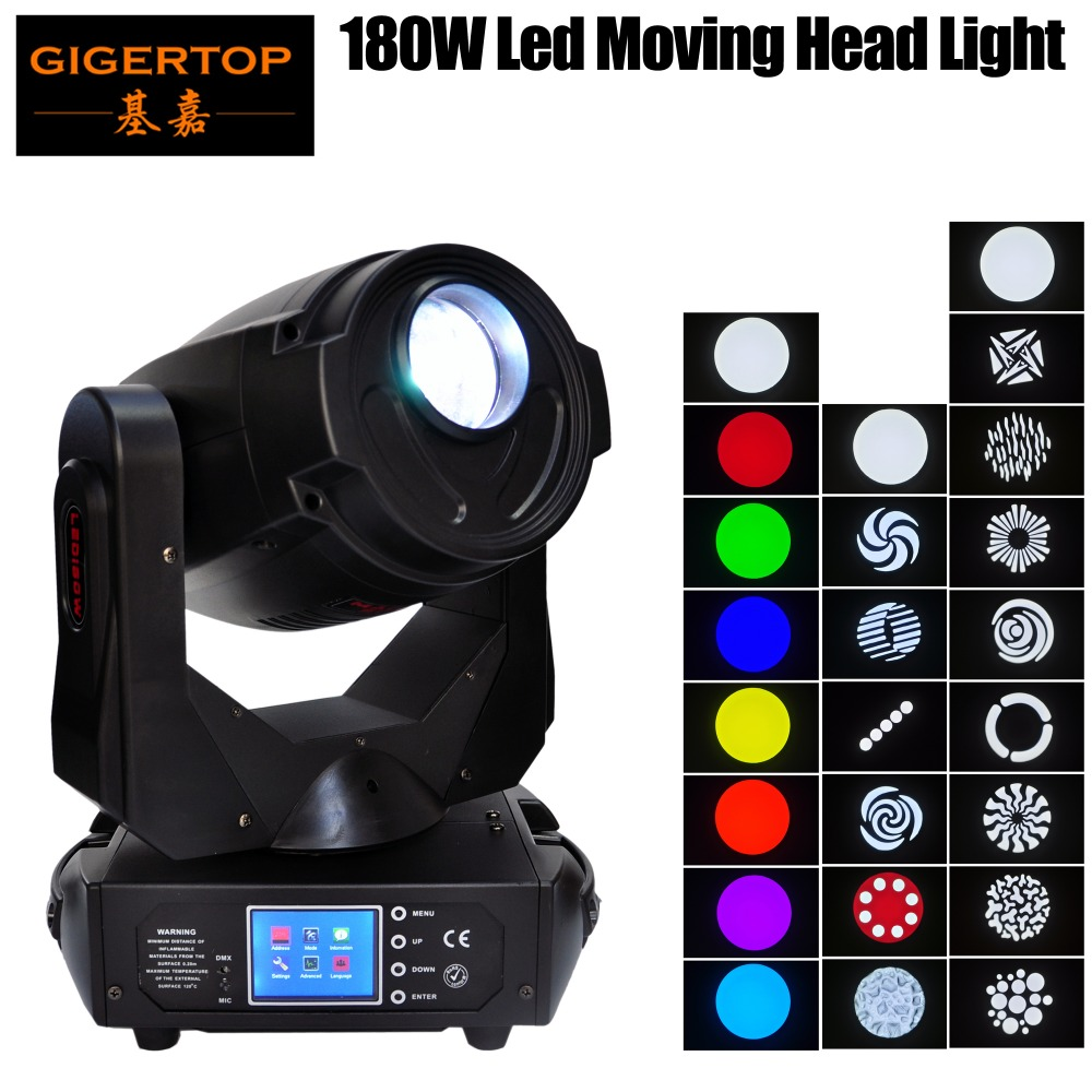 TIPTOP TP L680 180W Led Moving Head Light Same Power Output 700W Discharge Smooth Pan Tilt