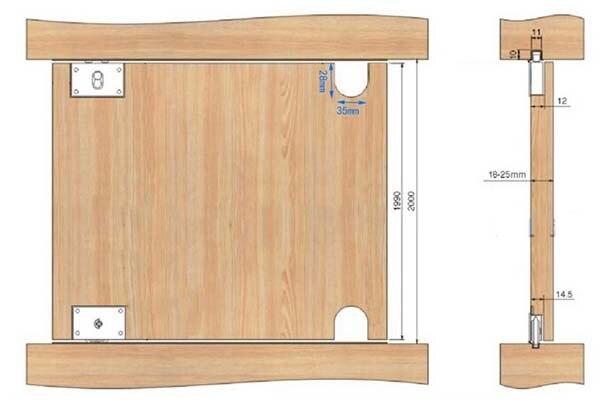 Ruedas puerta corredera armario fabulous movimiento de la for Polea para subir muebles