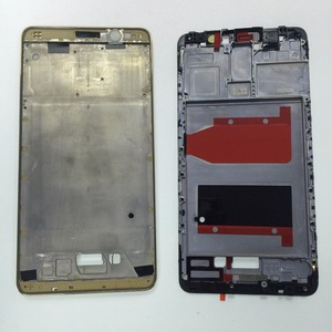 High Quality Front Frame Housing for Huawei Ascend Mate 9 Mate9 MT9 LCD Frame Supporting Faceplate Bezel Black White Gold Mocha(China)
