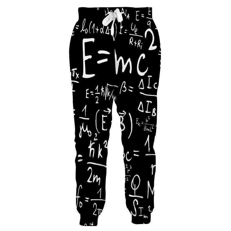 Genius Joggers Pantalones Deportivos Unisex De Formula Matematica Pantalones De Entrenamiento Casuales Elasticos Pantalones De Chandal De Vacaciones Para Hombre De Hip Hop Aliexpress