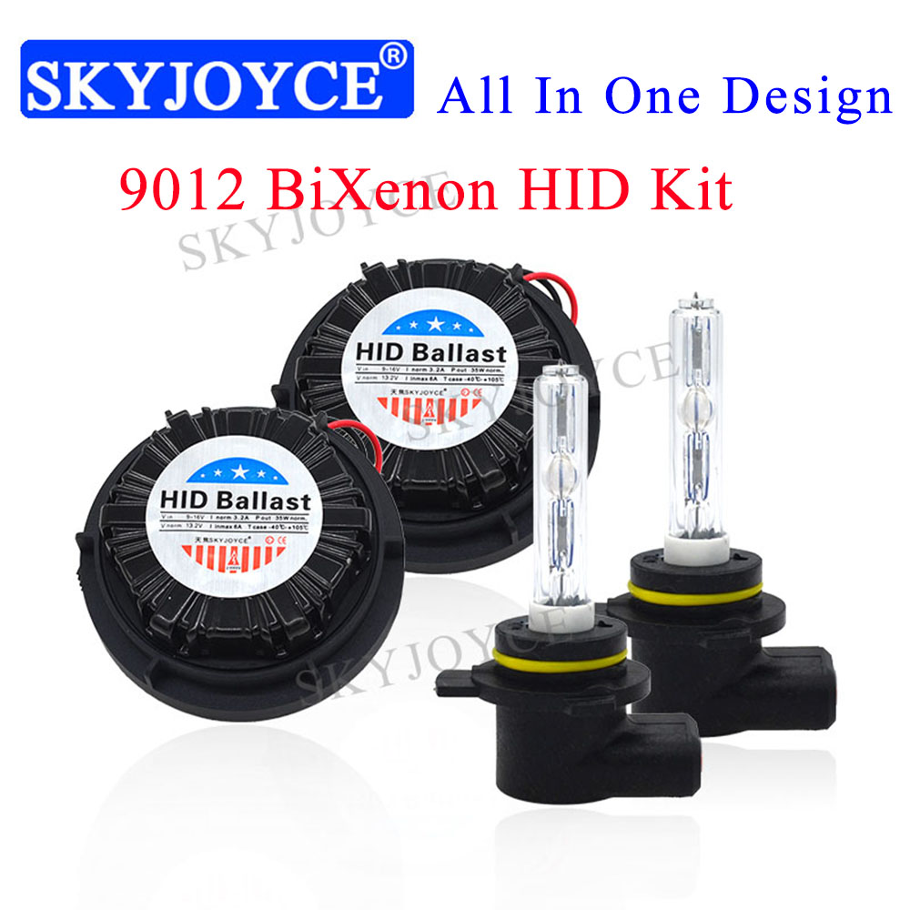35W 9012 HIR2 Canbus Xenon Kit For 2011 2014 For d Edge Integrated Car Headlight Bulb