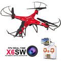 RC Drone Quadcopter X6SW With HD Camera Headless 6-Axis Wifi Real-Time Helicopter FPV Quadcopter VS Syma X5SW X705