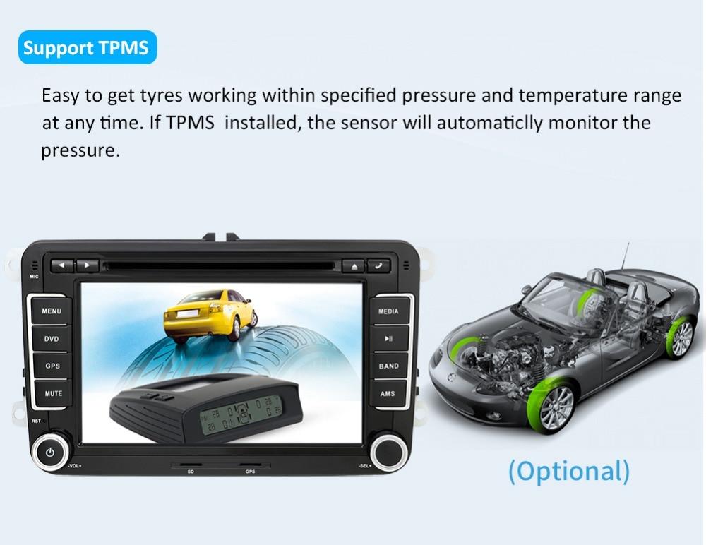OCTA Android Golf/Tiguan/Skoda/Fabia/rápido/ DAB 18