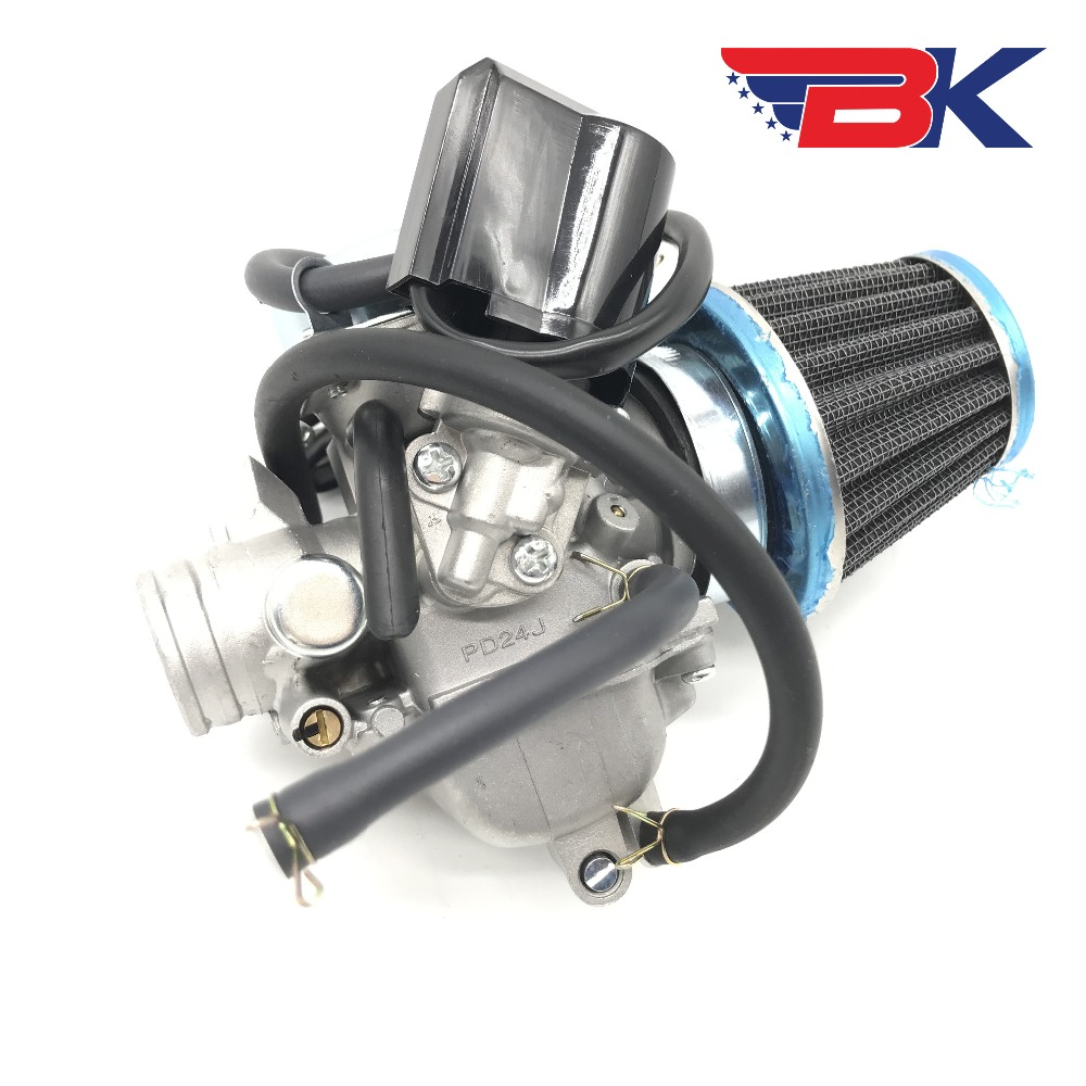 Back To Search Resultsautomobiles & Motorcycles Atv Parts & Accessories Gy6 125cc 150cc Carburetor Pd24j W/ Air Filter Scooter Atv Go Kart Taotao Roketa Tank Sunl Bmx Good For Energy And The Spleen