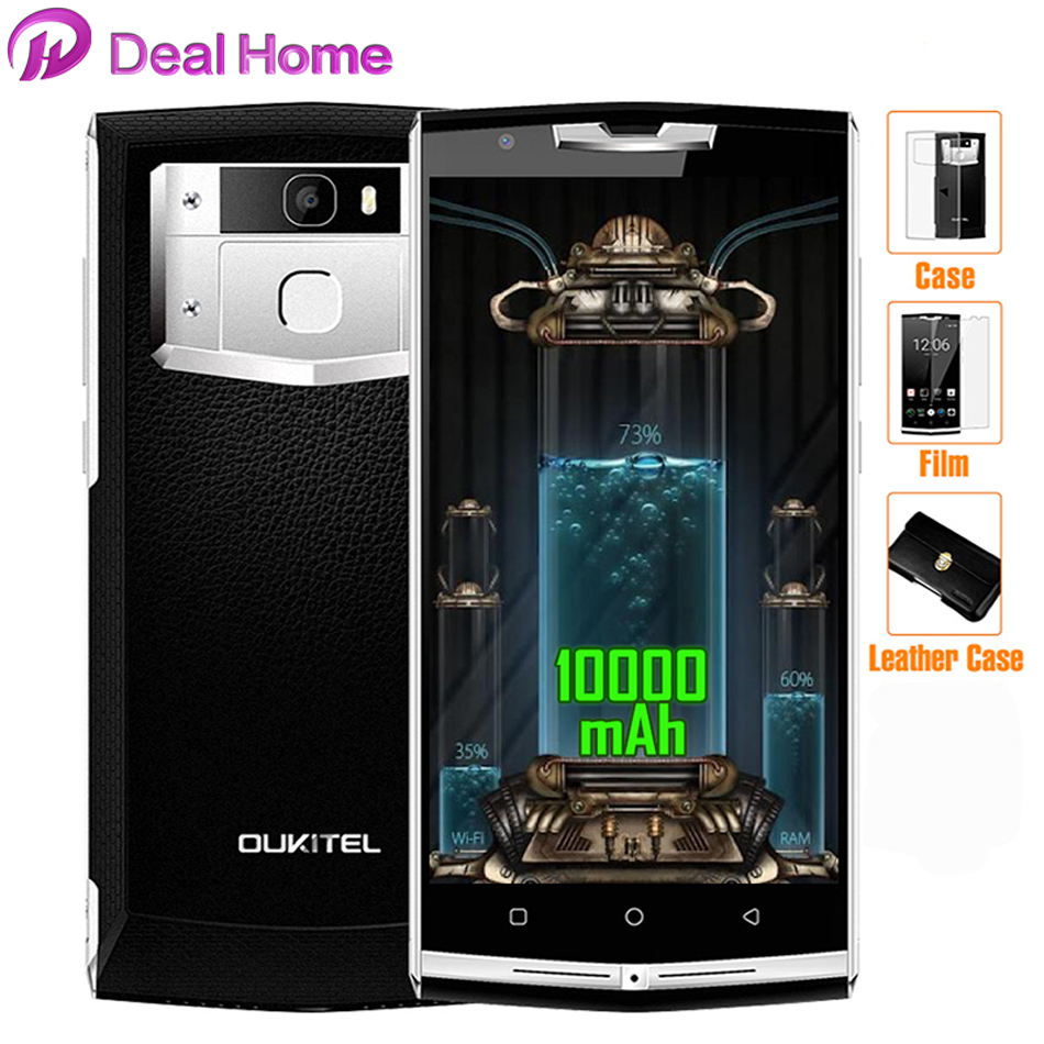 Oukitel K10000 3 GB + 32 GB 10000 mAh Pro 4G Mobile phone Android 7.0 MTK6750T Octa