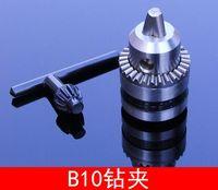 B10 0.6-6 미리메터 클램프 마이크로 드릴 척 전기 드릴 척 연결 낚싯