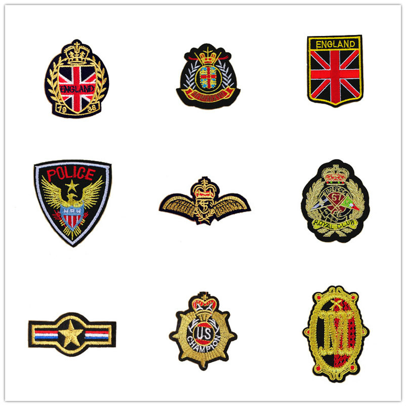 1 Pc Military Patches Iron On Patches Parches Bordados Patches For