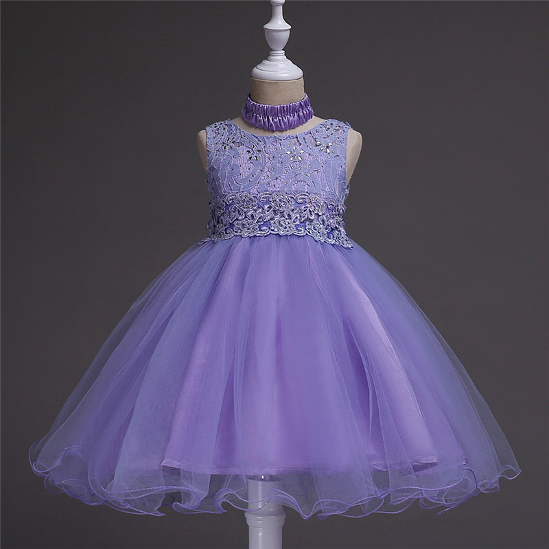 Baby 2 15 Yrs Teenage Girls Princess Dresses Girl Embroidered Pink ...