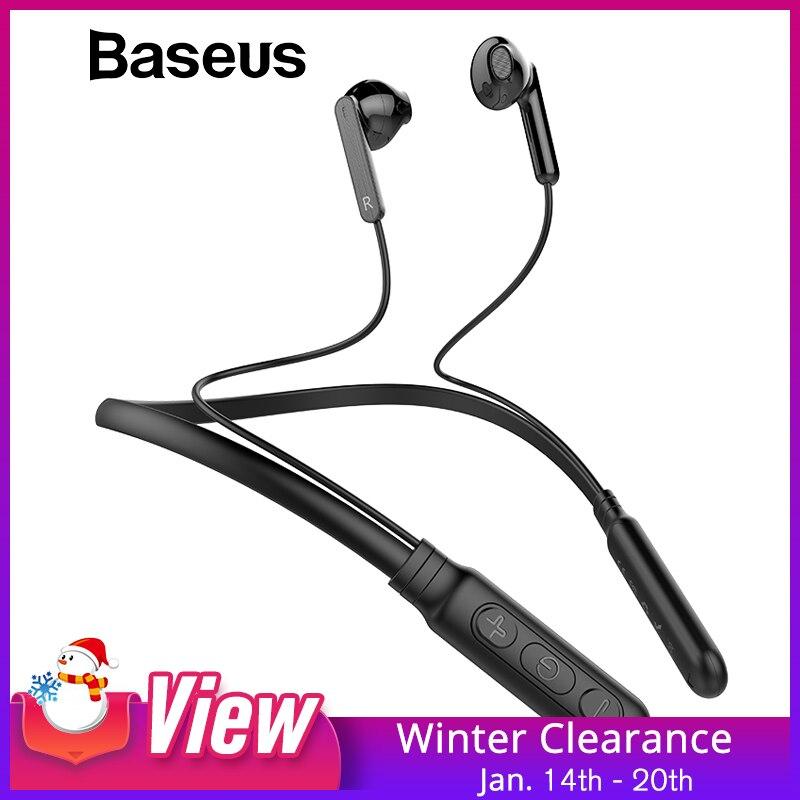 Baseus S16 Bluetooth Kopfhörer Integrierte Mic Drahtlose Leichte Neckband Sport Kopfhörer earbuds stereo auriculares für telefon