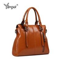 YBYT Brand 2017 New PU Leather Women High Quality Handbags Fashion Designer Bag Ladies Simple Shoulder