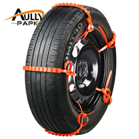 10PCS Set Car Universal Mini Plastic Winter Tyres Wheels Snow Chains For Cars Suv Car Styling
