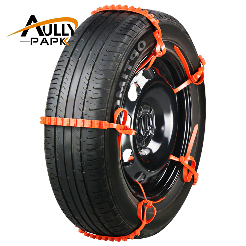 10PCS /Set Car Universal Mini Plastic Winter Tyres wheels Snow Chains For Cars/Suv Car-Styling Anti-Skid Autocross Outdoor