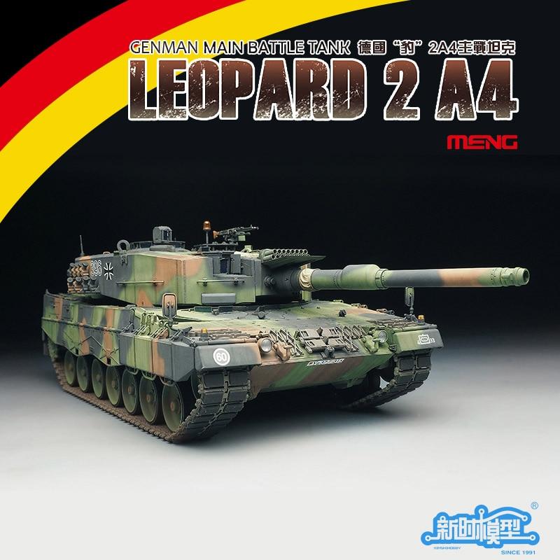 TS-016 1/35 Panther 2A4 German Main Battle Tank KIT-SET DIY Assembled Model ohs meng ts007 1 35 german main battle tank leopard 1 a3 a4 afv model building kits