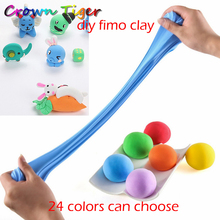air dry fluffy slime Polymer clay modeling Clay DIY Slime Foam fimo Clay Fimo Playdough plasticine slime Toys for children kid